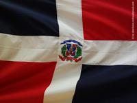 Fahne Dominikanische Republik